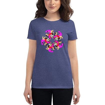T-shirt à Manches Courtes pour Femmes UNGL