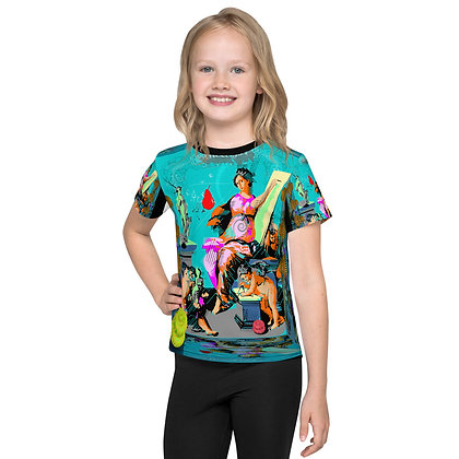 T-shirt Pour Enfant ALLEZ GO RIS