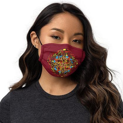 Masque ZIPCIRCLE red2