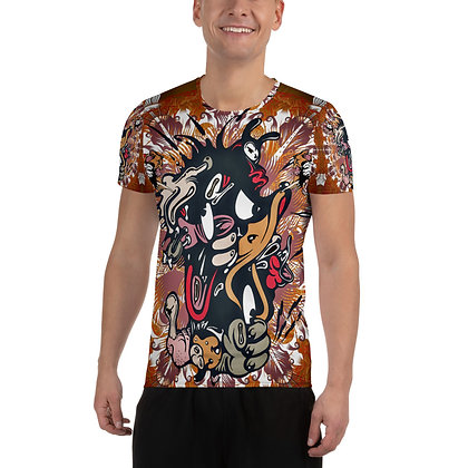 T-shirt Pour Homme ANGRY DLANOD