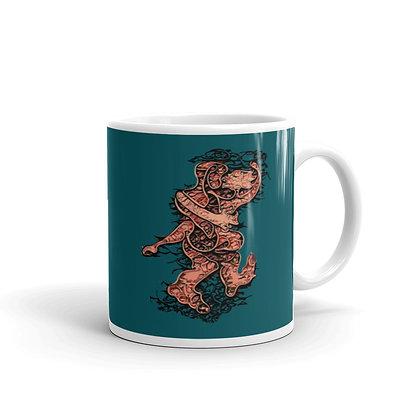 Mug LOVE999 blue4