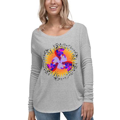 T-shirt à Manches Longues pour Femme CIRCLEMISTERY