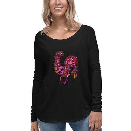 T-shirt à Manches Longues pour Femme