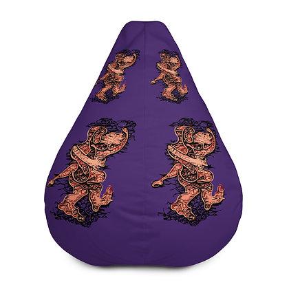 Housse de pouf LOVE999 purple