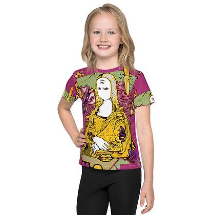 T-shirt Pour Enfant MONAJAUNE