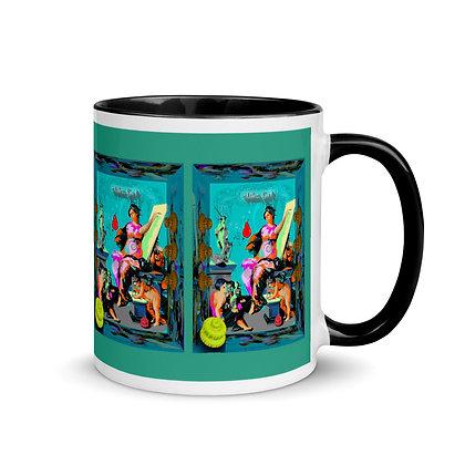 Mug ALLEZ GO RIS 66 à Intérieur Coloré