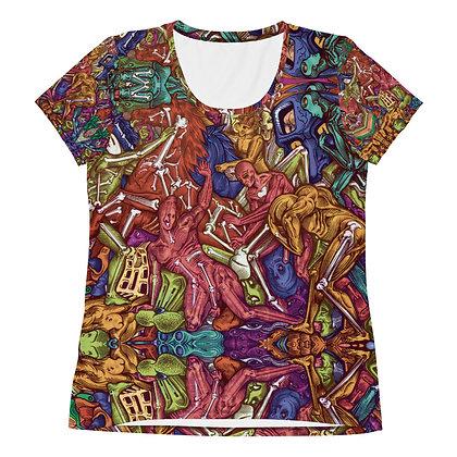 T-shirt pour femmes MULTINESQUELETTES