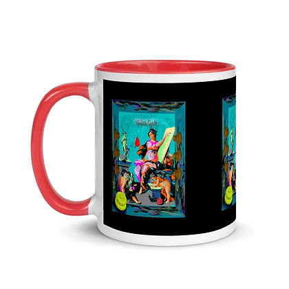 Mug ALLEZ GO RIS à Intérieur Coloré
