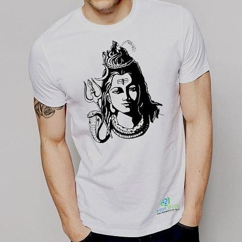 Shiv baba Indian cotton T-Shirt