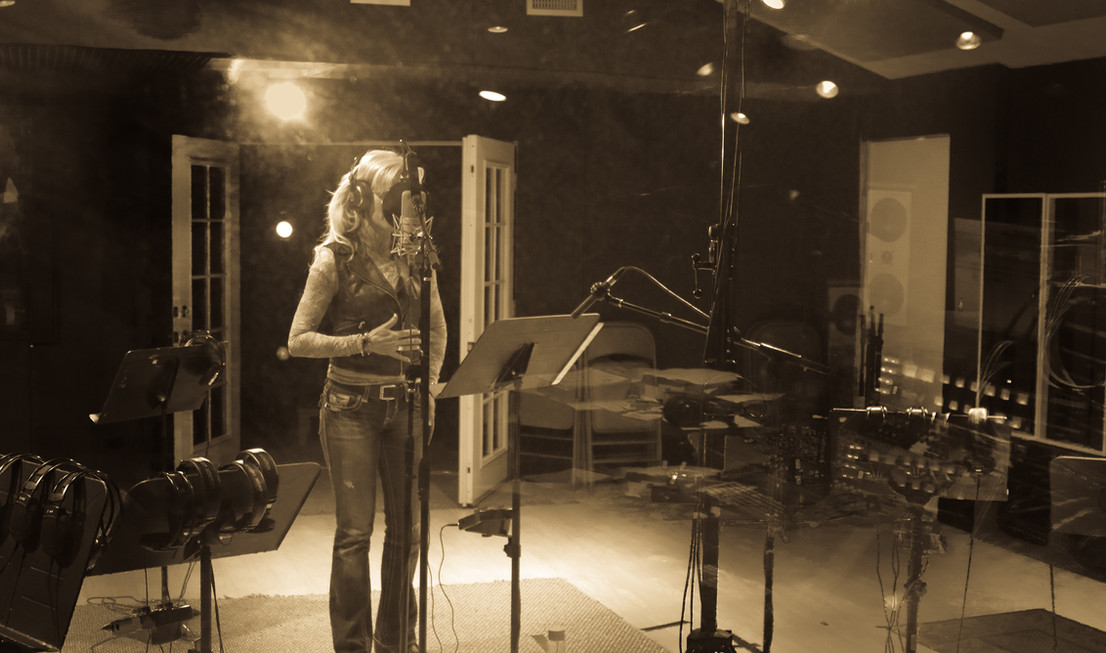 alicia blickfeldt studio platinum recording Gibbons