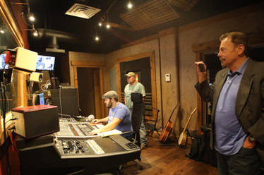 Mudcats studio Alicia Blickfeldt recording