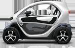 Livraison de pizzas en véhicule 100% électrique Renault Twizy