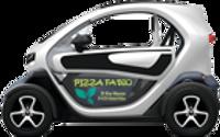 Pizza FaBio vous livre en twizy