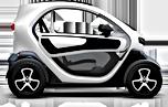 Livraison de pizza à Dommartemont en véhicule 100% électrique Renault Twizy