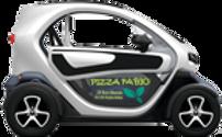 Commande en ligne de pizza livraison en twizy