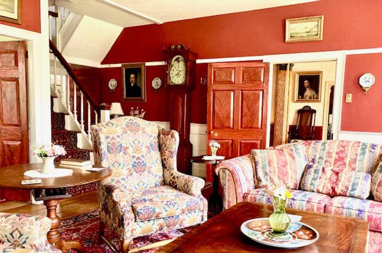 Living Room into Hall