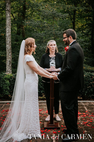 Collen and Mike's Lightwood Wedding in the Woods
