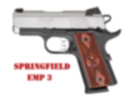 "Springfield EMP 3"" Grips"