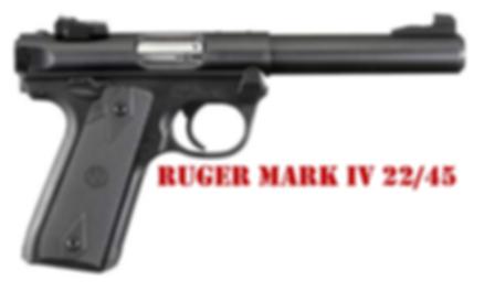 Ruger Mark IV 22-45 Grips