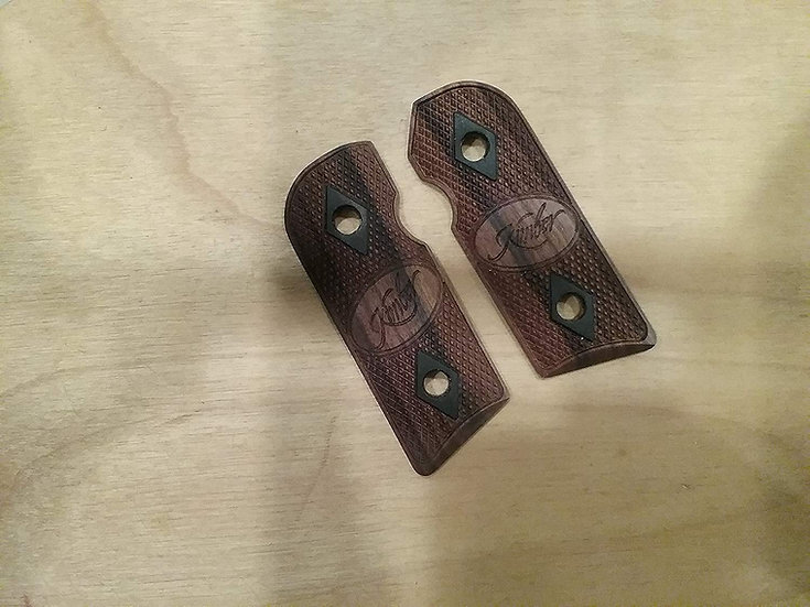 Kimber Solo - Bolivian Rosewood - African Blackwood Inlay - KLDDC-DDI Grips