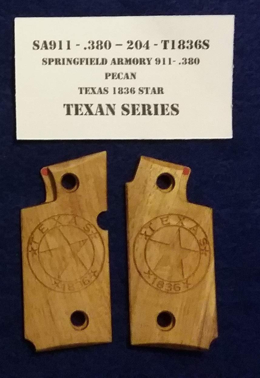 Springfield Armory 911- 380 - Pecan - T1836S - Grips
