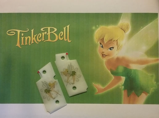 Tinkerbell Graphic Inlay