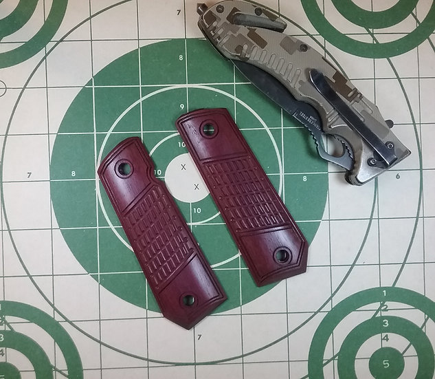 "Springfield EMP 4"" CCC - Purpleheart - TRT - Grips"