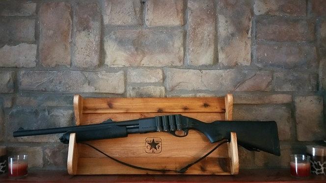 Double Rifle / Shotgun Rack (Wood Options Available)