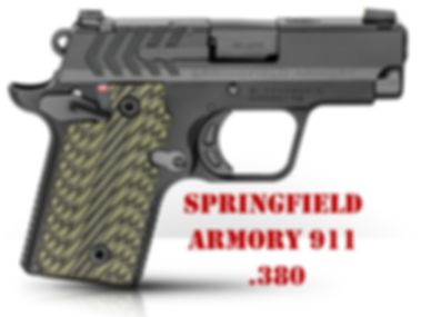 Springfield 911 .380 Grips