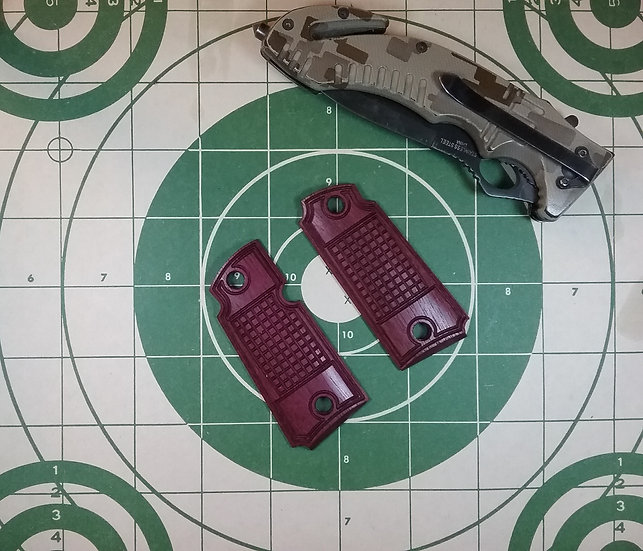 Kimber Micro 380 - Purpleheart - Tactical Grenade Texture Grips