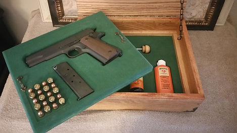 Gun Storage Presentation Box
