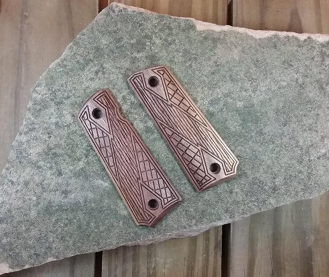 Browning 1911 - 22/380 - Walnut - Gentleman Carry Texture Grips