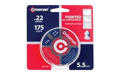 CROSMAN .22 POINTED PELLETS 175/TIN