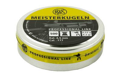 RWS PLTS .177 MEISTERKUGELN 500/TIN
