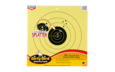 B/C DIRTY BIRD 25YD PISTOL 12-12""