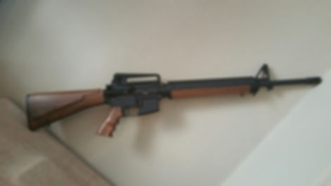AR-15 Wood Stock Set