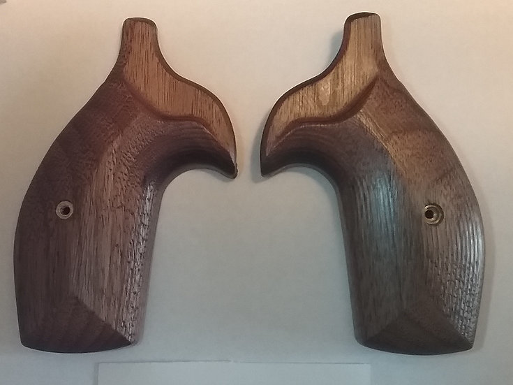"S&W K/L-Frame ""Walnut"" Smooth Carry Revolver Grip - Round Butt Frame"