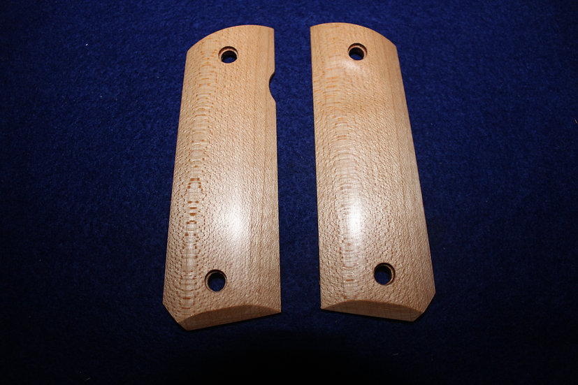 "1911 Standard Full Size ""Quarter Sawn Maple"" Wood Grips"