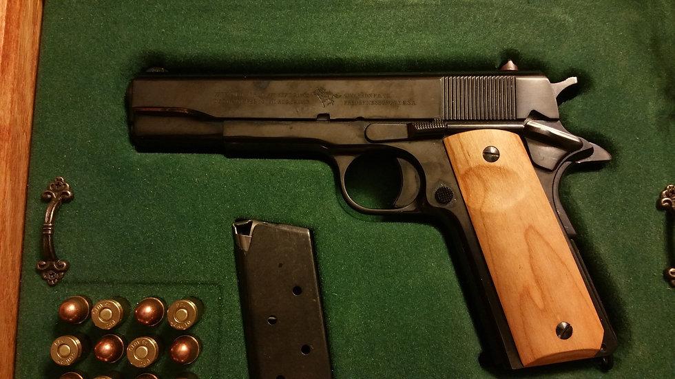"1911 Standard Full Size ""Cherry"" Wood Grips"