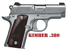 Kimber .380 Grips