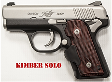 Kimber Solo Grips