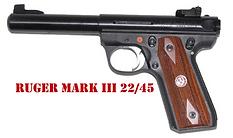 Ruger Mark III 22/45 Grips
