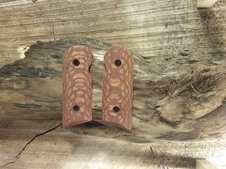 Kimber Solo - Leopardwood Grips
