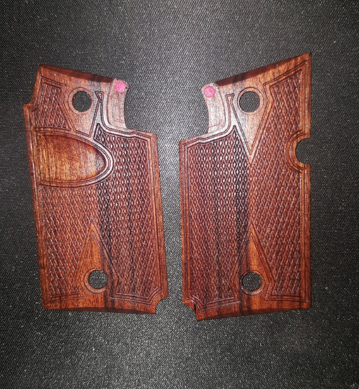 Springfield Armory 911 - 9mm - Bolivian Rosewood - DDC - Thumb Recess Grips