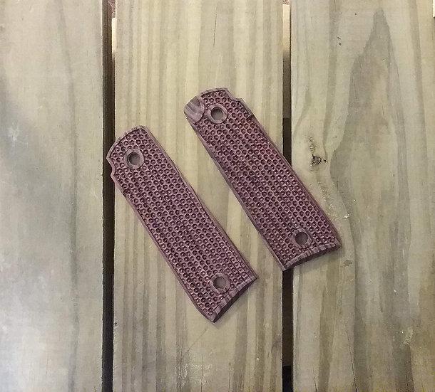 Ruger Mark IV 22/45 - Kingwood - Honeycomb Texture Grips