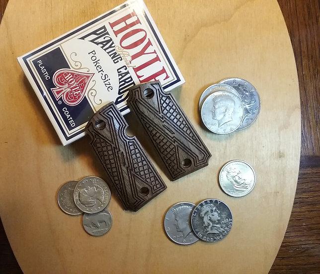 Kimber Micro 380 - Walnut - Gentleman Carry Texture Grips