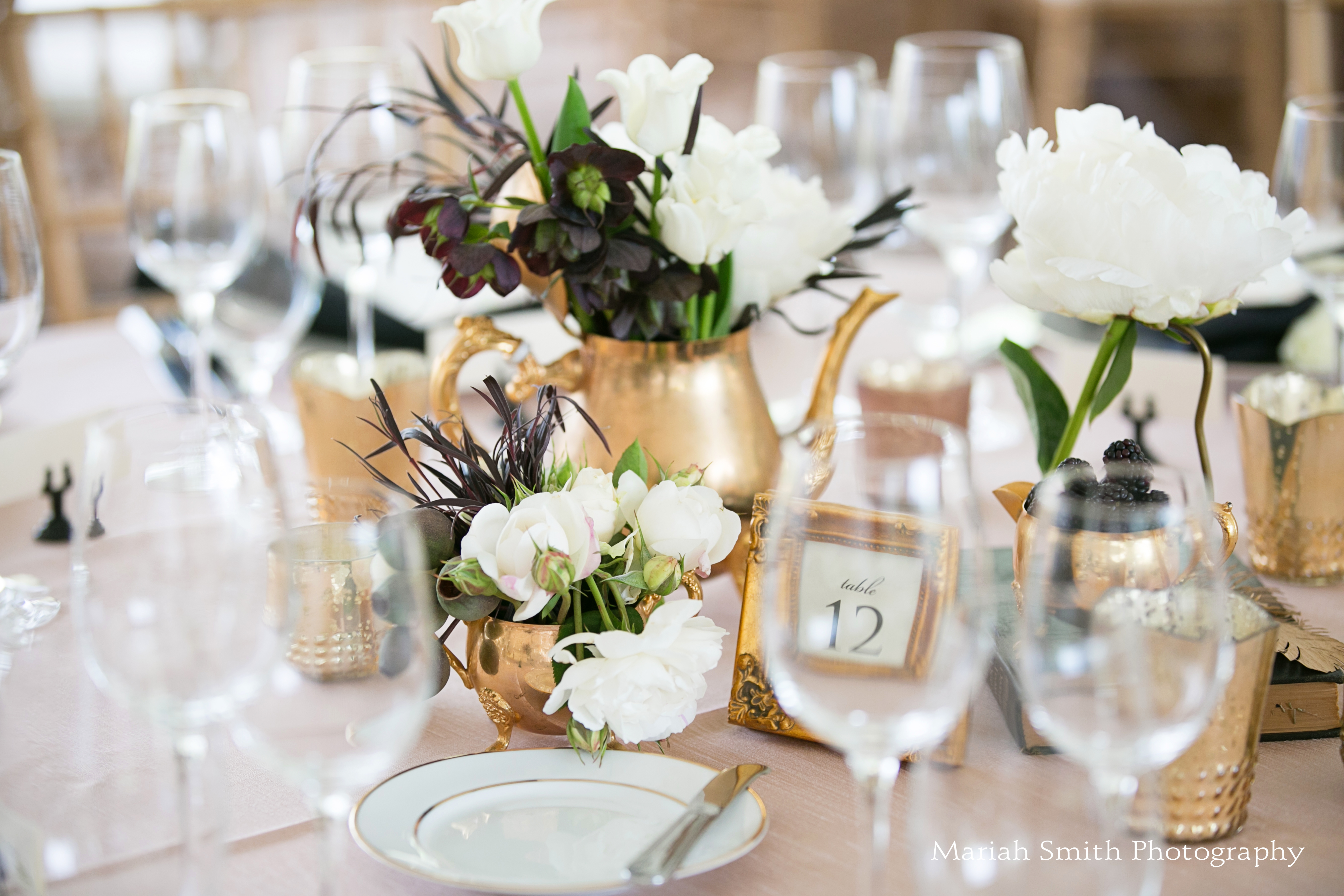 kunde winery wedding tablescape