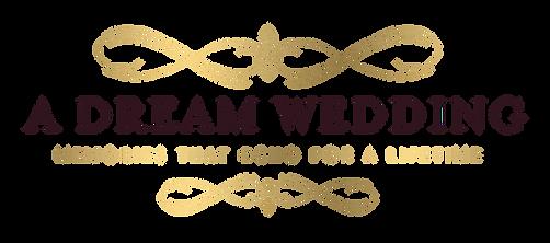 A Dream Wedding logo wedding planner