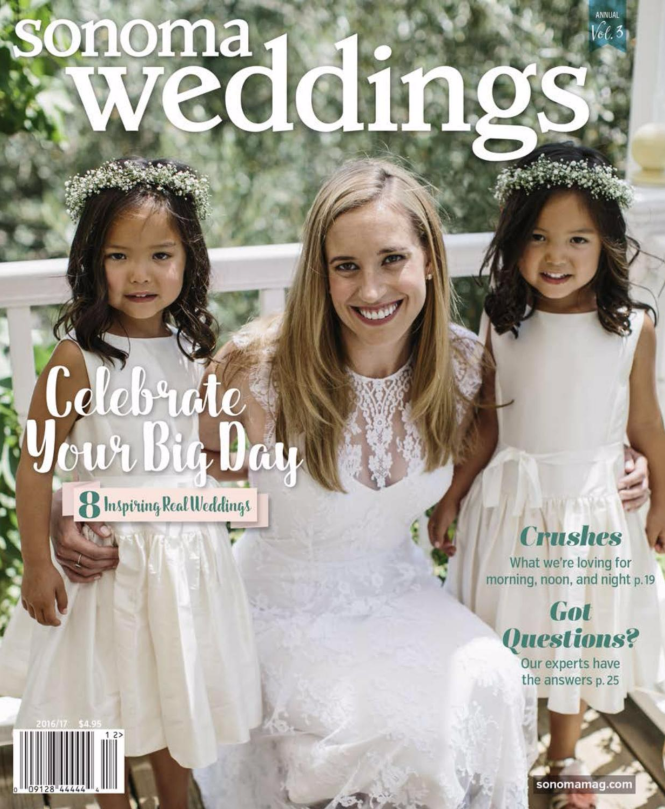 Sonoma Weddings Magazine 2016/17