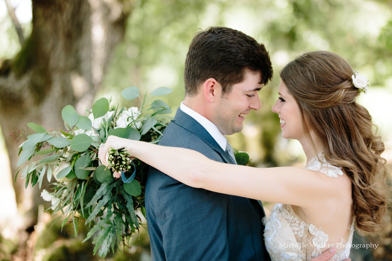 Napa wedding couple
